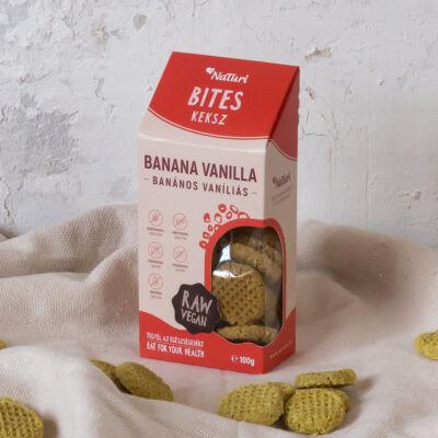 NaTuri Banános vaníliás keksz 100 g